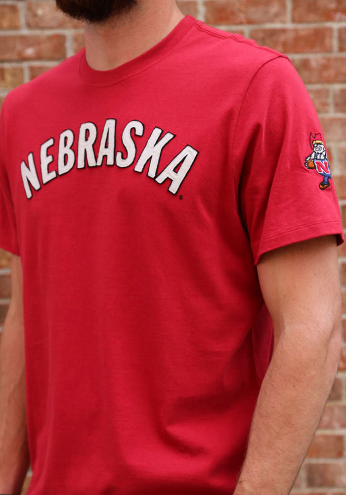 47 Nebraska Cornhuskers Red Fieldhouse Short Sleeve Fashion T Shirt - Image 3