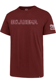 47 Oklahoma Sooners Crimson Fieldhouse Fashion Tee