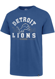 Detroit Lions 47 Retro 1934 T Shirt - Blue
