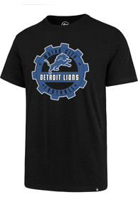 47 Detroit Lions Black Motor City Tee