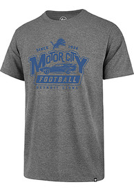Detroit Lions 47 Motor City T Shirt - Grey
