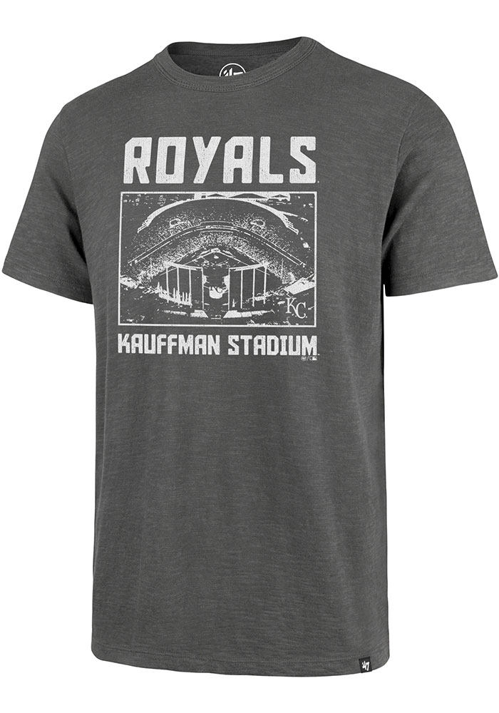 Kansas City Royals 47 Scrum Fashion T Shirt - Grey