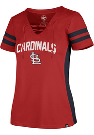 St Louis Cardinals Womens 47 Turnover Fashion Baseball Jersey - Red