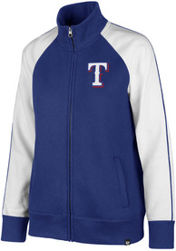 47 Texas Rangers Womens Headline Blue Track Jacket