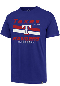 Texas Rangers 47 Super Rival T Shirt - Blue
