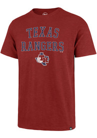 Texas Rangers 47 Scrum Fashion T Shirt - Red