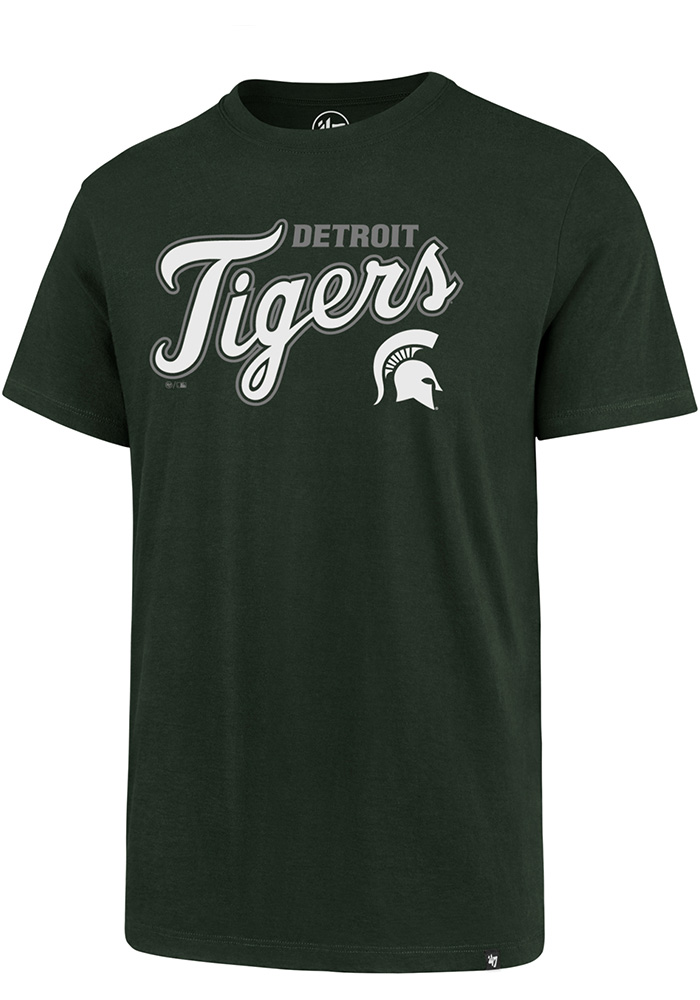 '47 Michigan State Spartans Green Co Branded Tee