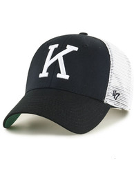 K-State Wildcats 47 Retro Branson MVP Adjustable Hat - Black