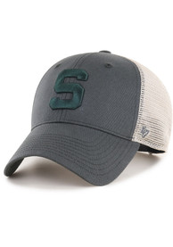 47 Michigan State Spartans Flagship Wash MVP Adjustable Hat - Charcoal