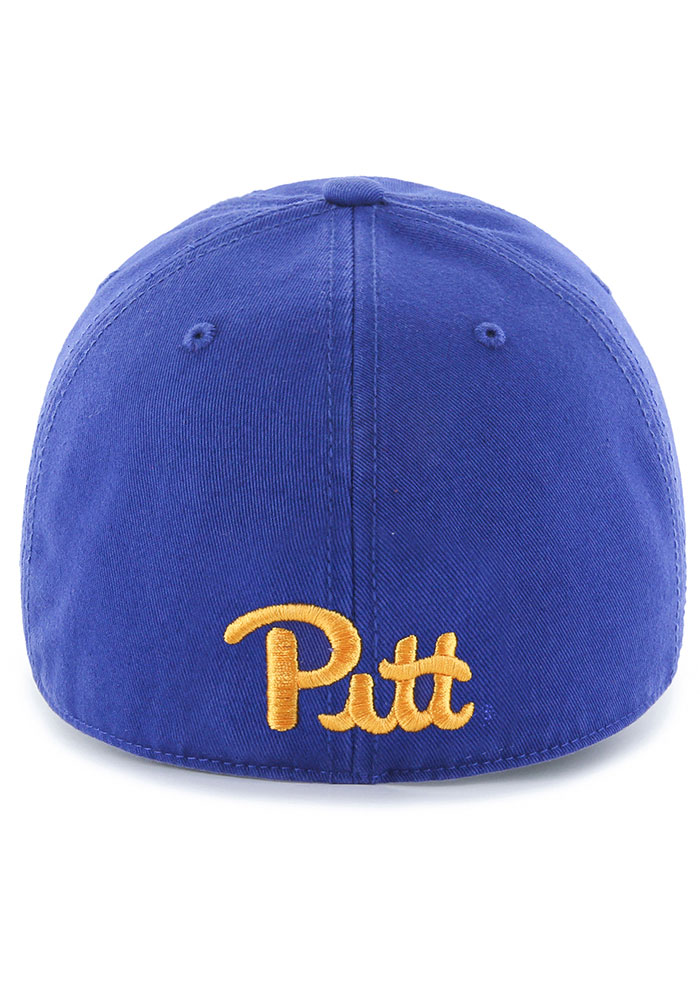 47 Pitt Panthers Mens Blue Franchise Fitted Hat - Image 2