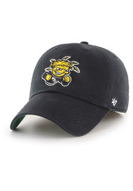 Wichita State Shockers 47 Black Franchise Fitted Hat