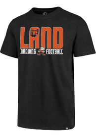 47 Cleveland Browns Black The Land Tee