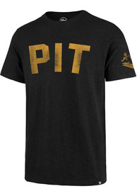 lowest price 3c4cc 5a9d6 '47 Pittsburgh Steelers Black City Scrum Fashion Tee