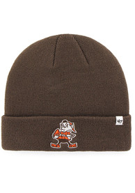 47 Cleveland Browns Brown Cuff Knit Hat