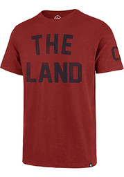 47 Cleveland Indians Red City Nickname Fashion Tee