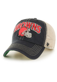 47 Cleveland Browns Tuscaloosa Clean Up Adjustable Hat - Black