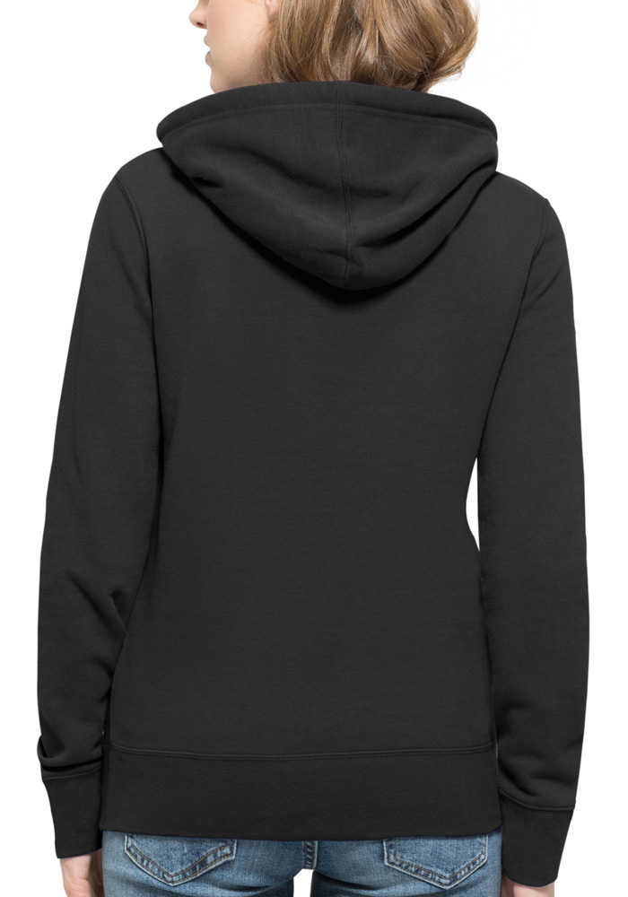 47 Kansas City Chiefs Womens Black Rundown Headline Hooded Sweatshirt - Image 2