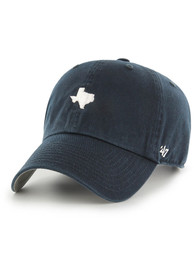 Texas 47 Base Runner Clean Up Adjustable Hat - Navy Blue