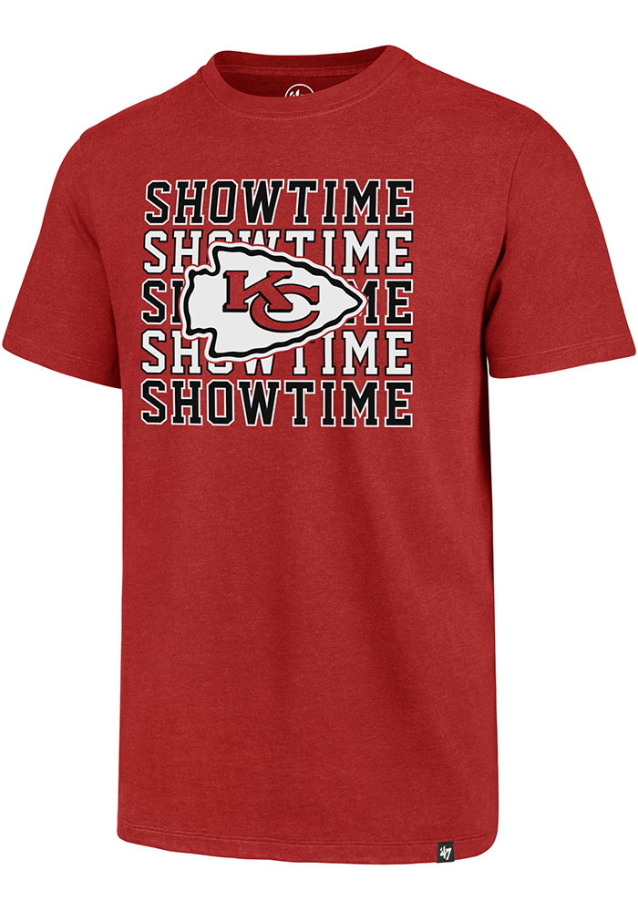 47 Kansas City Chiefs Red Showtime Short Sleeve T Shirt - Image 1
