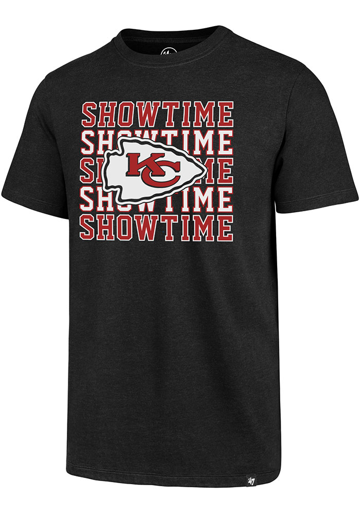 Kansas City Chiefs 47 Showtime T Shirt - Black