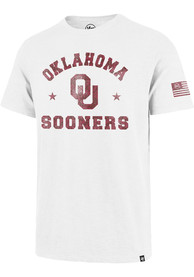 47 Oklahoma Sooners White OHT Fashion Tee