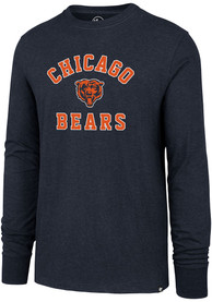 47 Chicago Bears Navy Blue Varsity Arch Tee