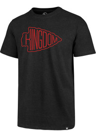 Kansas City Chiefs 47 Kingdom Arrowhead T Shirt - Black