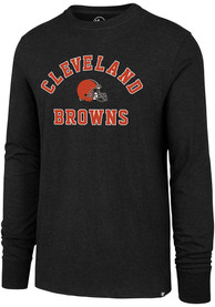 47 Cleveland Browns Black Varsity Arch Tee