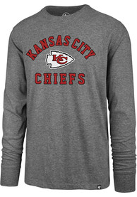 47 Kansas City Chiefs Grey Varsity Arch Tee