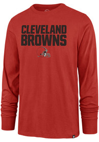 Cleveland Browns 47 Pregame T Shirt - Orange
