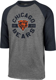 47 Chicago Bears Navy Blue Round About Fashion Tee