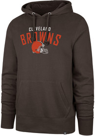 47 Cleveland Browns Brown Outrush Hoodie