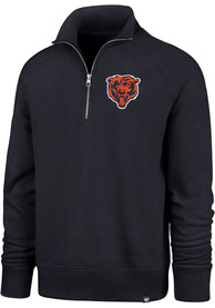 47 Chicago Bears Navy Blue Headline 1/4 Zip Fashion Pullover