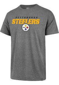 Pittsburgh Steelers 47 Imprint T Shirt - Grey