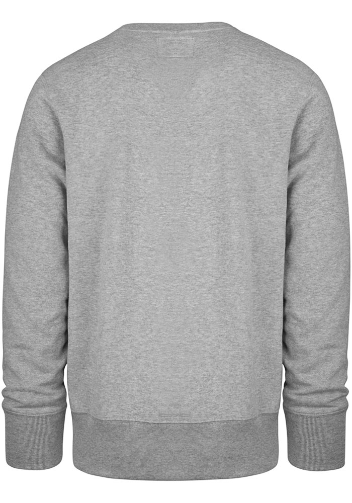47 Kansas City Chiefs Mens Grey Headline Long Sleeve Crew Sweatshirt - Image 2