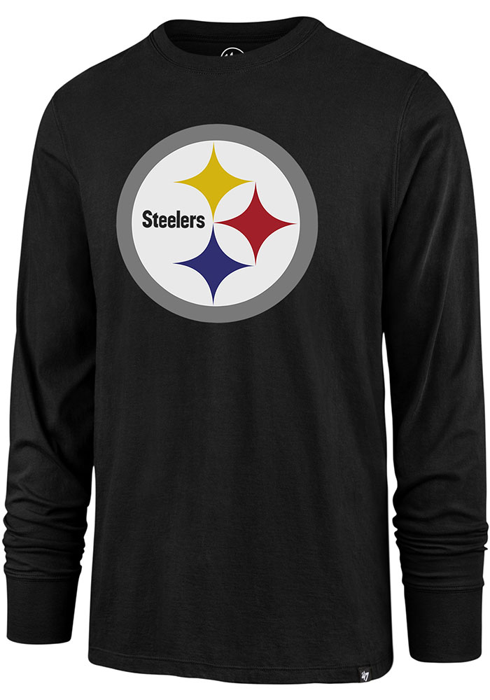 47 Pittsburgh Steelers Black Imprint Tee