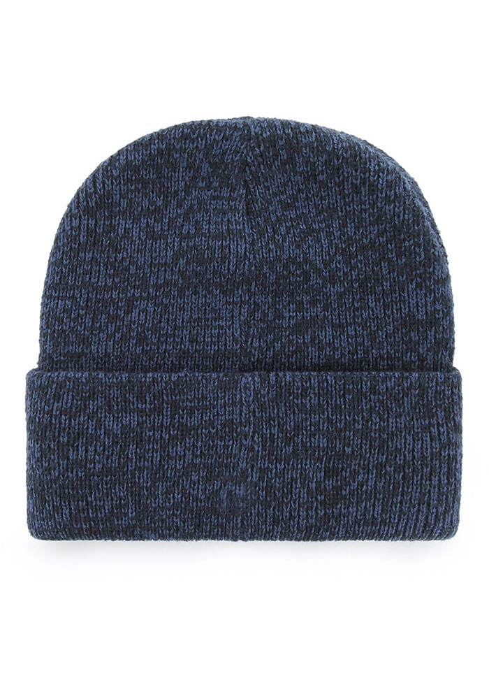 '47 Chicago Bears Navy Blue Brain Freeze Mens Knit Hat - Image 2