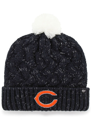47 Chicago Bears Womens Navy Blue Fiona Cuff Knit Hat bcaec4110