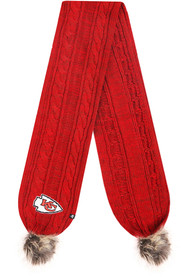 Kansas City Chiefs Womens 47 Color Meeko Scarf - Red