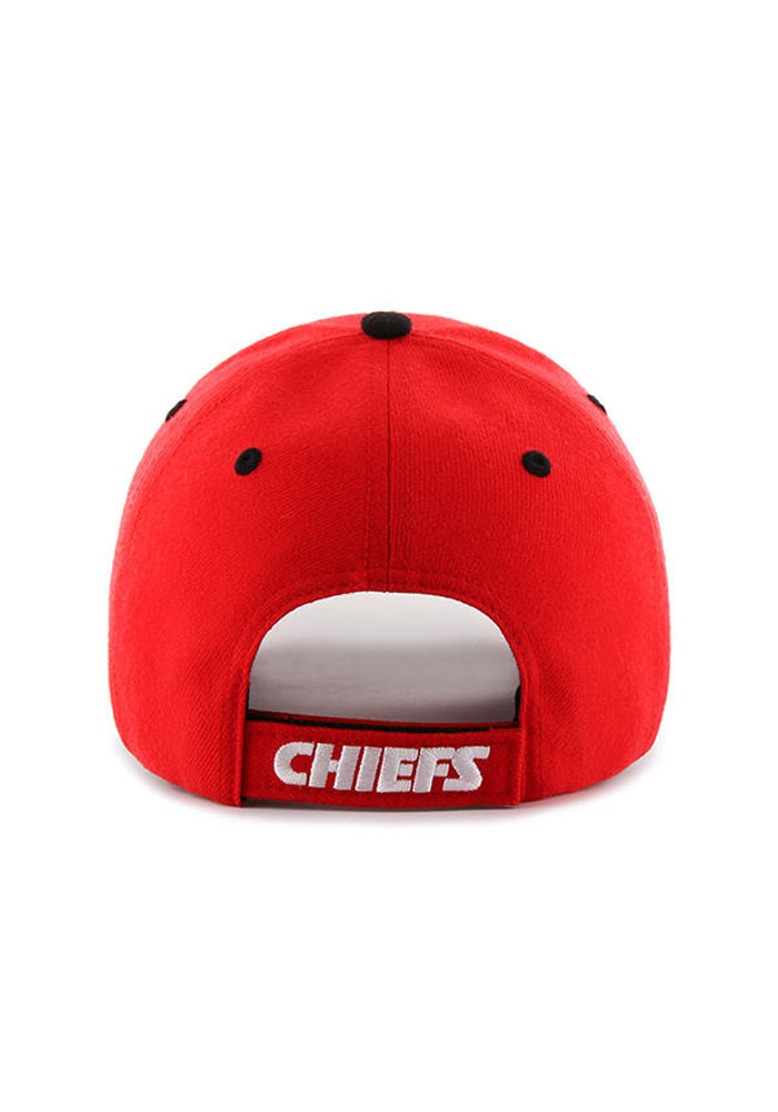 '47 Kansas City Chiefs Mens Red Audible 47 MVP Adjustable Hat - Image 2