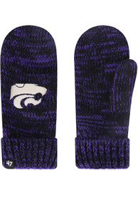 K-State Wildcats Womens 47 Color Meeko Gloves - Purple