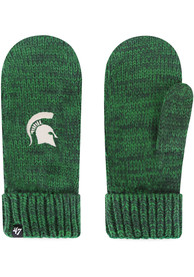 Michigan State Spartans Womens 47 Color Meeko Gloves - Green