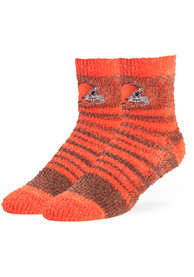 47 Cleveland Browns Womens Brown Snug Quarter Socks