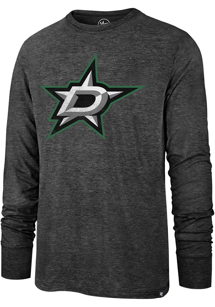 47 Dallas Stars Black Imprint Match Long Sleeve Fashion T Shirt - Image 1