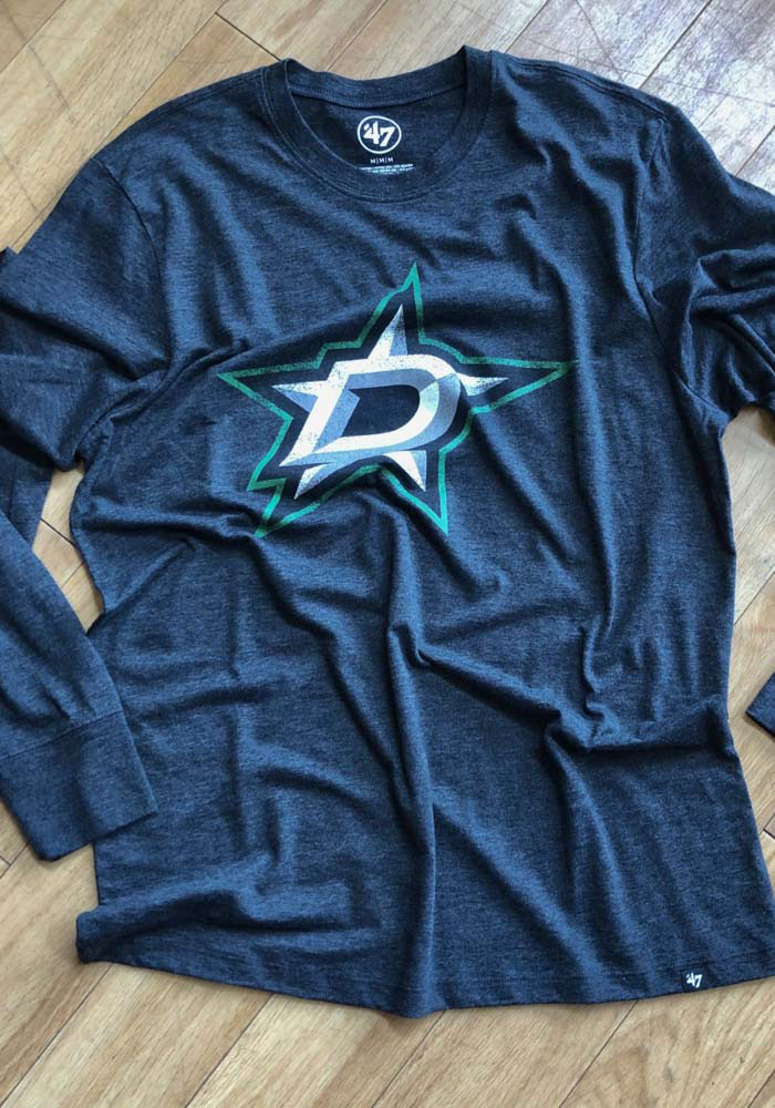 47 Dallas Stars Black Imprint Match Long Sleeve Fashion T Shirt - Image 3