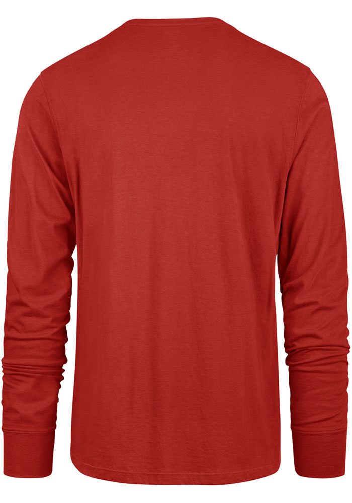 47 Kansas City Chiefs Red Traction Long Sleeve T Shirt - Image 2