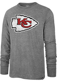 Kansas City Chiefs 47 Imprint Match Fashion T Shirt - Grey
