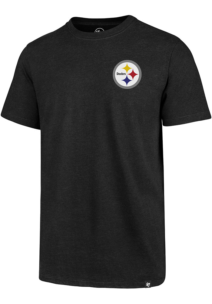 Pittsburgh Steelers 47 Line Up T Shirt - Black