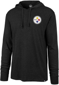 Pittsburgh Steelers 47 Imprint Hooded Sweatshirt - Black