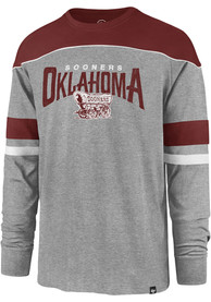 47 Oklahoma Sooners Grey Win Streak Fashion Tee